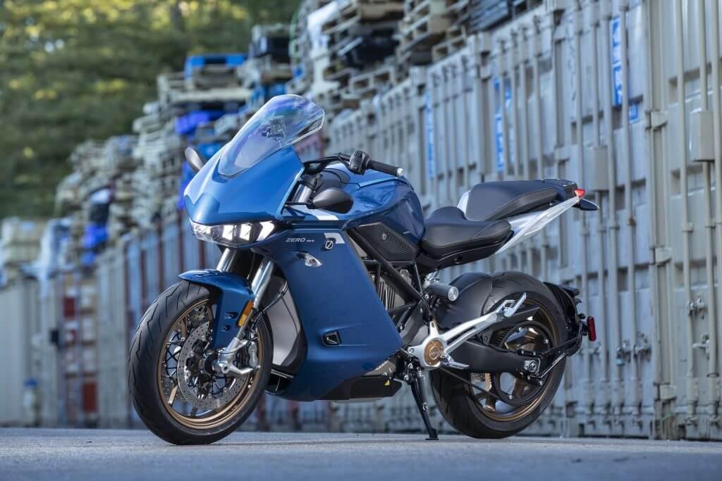 Le Zero SR/F de Zero Motorcycles